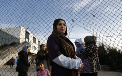 Refugee Women on Greek Islands